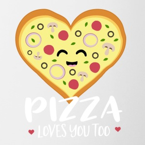 Pizza loves you too - Coffee/Tea Mug