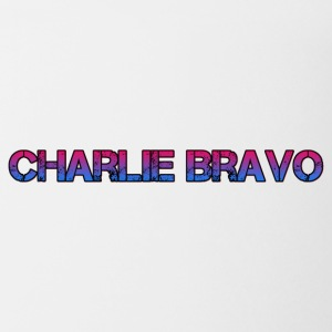 Charlie Bravo Plain Text - Coffee/Tea Mug