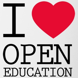 I Love Open Education - Coffee/Tea Mug