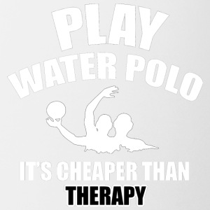 water polo design - Coffee/Tea Mug