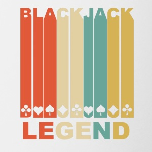 Vintage Blackjack Legend Graphic - Coffee/Tea Mug