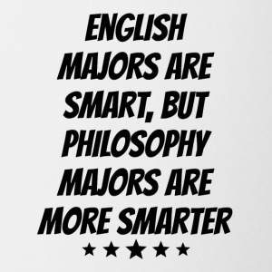 Philosophy Majors Are More Smarter - Coffee/Tea Mug