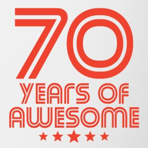 70 Years Of Awesome 70th Birthday - Coffee/Tea Mug