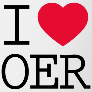I love OER - Coffee/Tea Mug