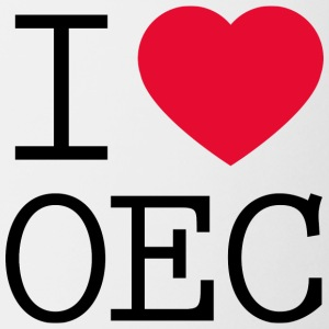 I love OEC - Coffee/Tea Mug