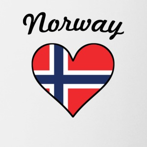 Norway Flag Heart - Coffee/Tea Mug