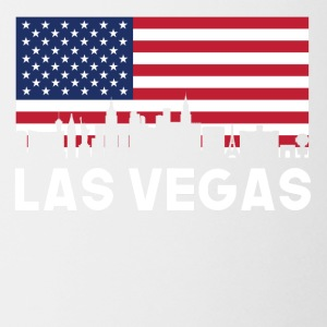 Las Vegas NV American Flag Skyline - Coffee/Tea Mug