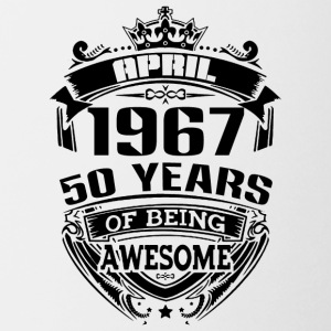 april 1967 50 years of being awesome - Coffee/Tea Mug