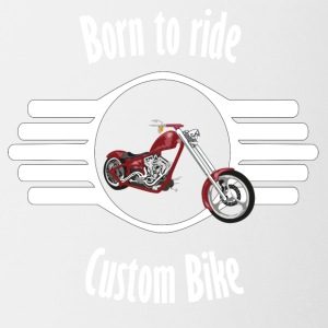 Born to ride Custom Bike - Coffee/Tea Mug