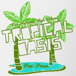 Van Marshall High School Tropical Oasis Post Prom - Coffee/Tea Mug