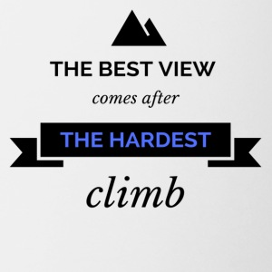 Hardest Climb - Coffee/Tea Mug