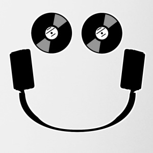 Smiley Headphones - Coffee/Tea Mug