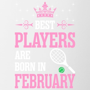 Best Players Are Born In February - Coffee/Tea Mug