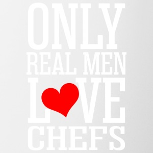 Only Real Men Love Chefs - Coffee/Tea Mug