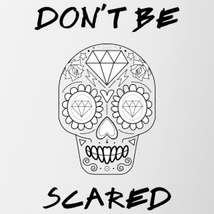 Calavera - Don't be Scared - Coffee/Tea Mug