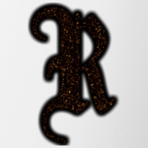 RAXX R LETTER GOLD - Coffee/Tea Mug