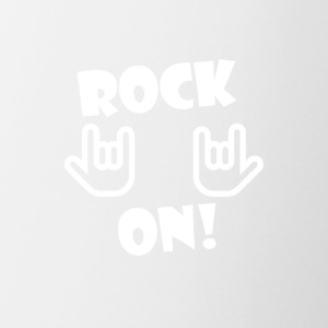 Rock On (White) - Coffee/Tea Mug