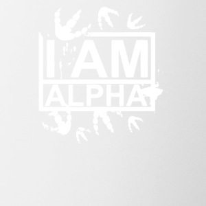 I am Alpha Quote - Coffee/Tea Mug