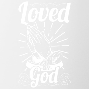 Loved By God (White Letters) - Coffee/Tea Mug