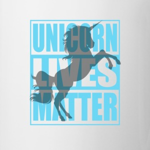 Funny Unicorn Lives Matter Humor Quotes Apparel - Coffee/Tea Mug