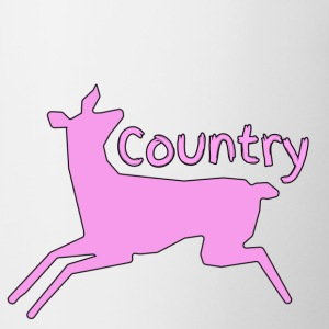 Girl Country ( Pink Country ) - Coffee/Tea Mug