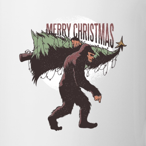 Bigfoot christmas - Coffee/Tea Mug