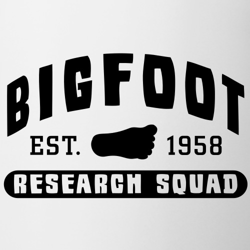 Bigfoot Research Squad Sasquatch 1958 - Coffee/Tea Mug