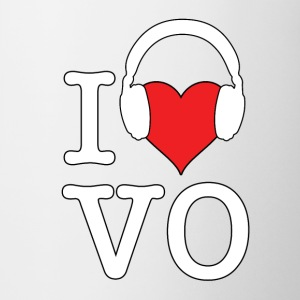 I Love VO - White Font - Coffee/Tea Mug