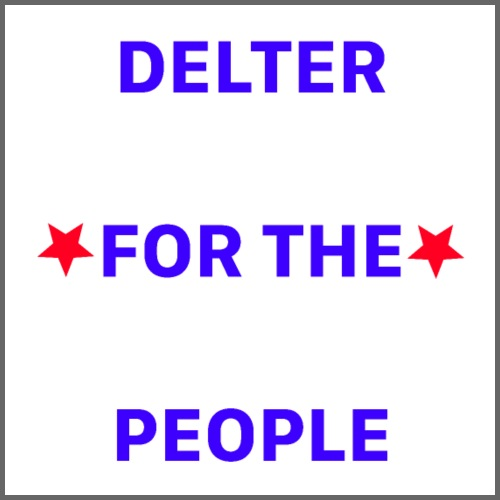 DELTER FOR THE PEOPLE - Coffee/Tea Mug