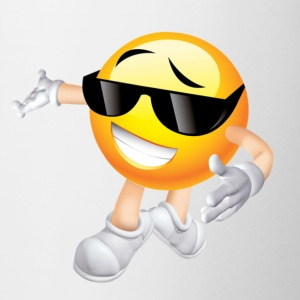 Cool Smiling Face with Sunglasses - Coffee/Tea Mug