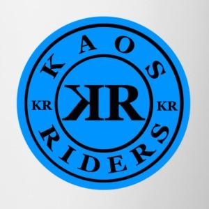 Kaos Riders Blue Logo - Coffee/Tea Mug