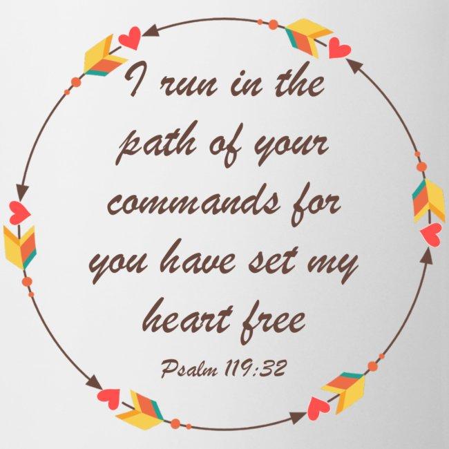 Psalm 119 32