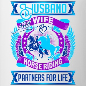 Husband And Wife Horse Riding Partners For Life - Coffee/Tea Mug
