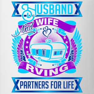 Husband And Wife Rving Partners For Life - Coffee/Tea Mug