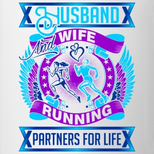 Husband And Wife Running Partners For Life - Coffee/Tea Mug
