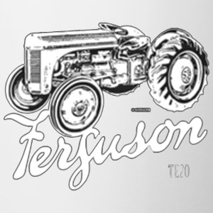 Classic Ferguson TE20 script and illustration - Coffee/Tea Mug
