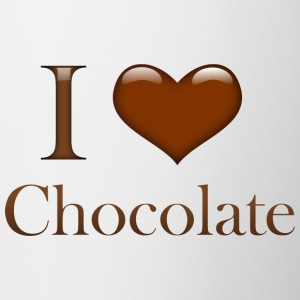 I Heart Chocolate - Coffee/Tea Mug