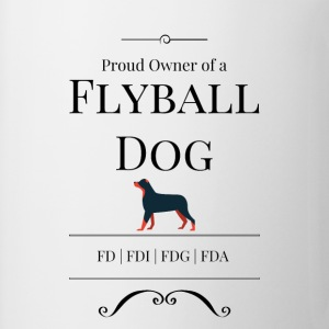 Proud Owner of a Flyball Dog - Coffee/Tea Mug