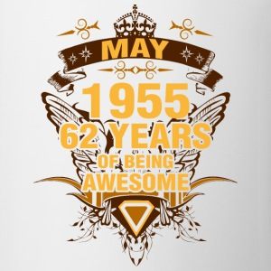 May 1955 62 Years of Being Awesome - Coffee/Tea Mug