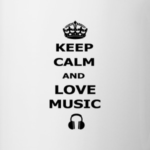 keep calm and love music - Coffee/Tea Mug