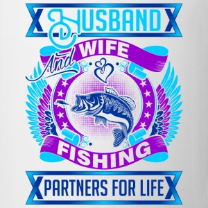 Husband And Wife Fishing Partners For Life - Coffee/Tea Mug
