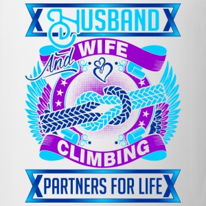 Husband And Wife Climbing Partners For Life - Coffee/Tea Mug