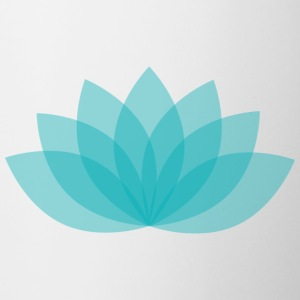 Turquoise lotus flower - Coffee/Tea Mug