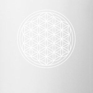 Flower of Life Sacred Geometry Design - Coffee/Tea Mug