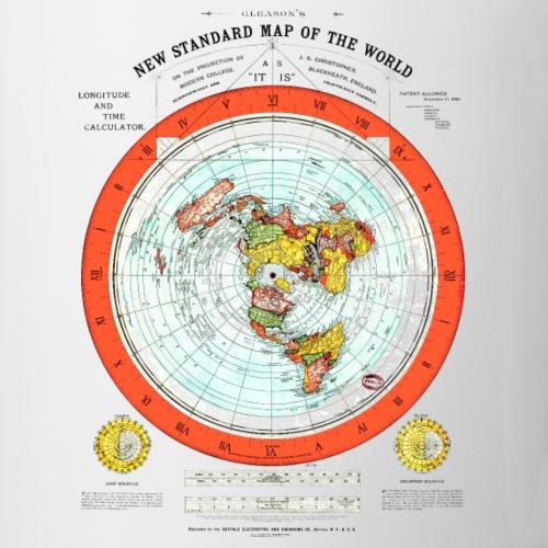 Flat Earth Map   Flat Earth Merch