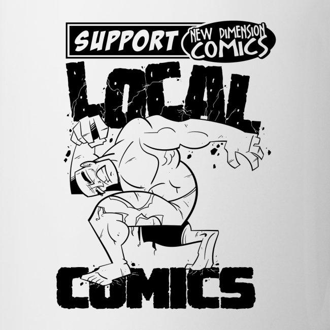 Support Local Comics NDC By Geoff Munn