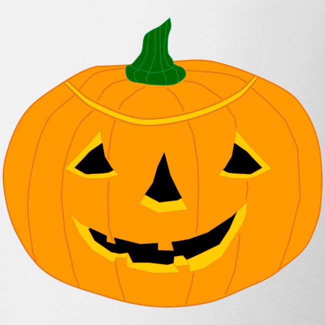 Cute Happy Halloween Pumpkin Coffeetea Mug Xenostral