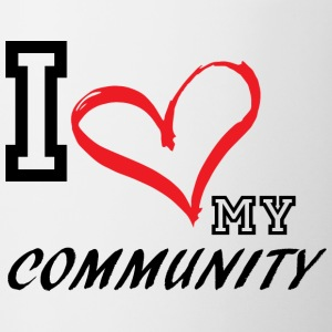 I_LOVE_MY_COMMUNITY - Coffee/Tea Mug
