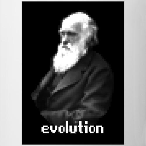 Darwin Pixel Portrait - Coffee/Tea Mug
