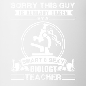 Sexy Biology Teacher Shirt - Coffee/Tea Mug